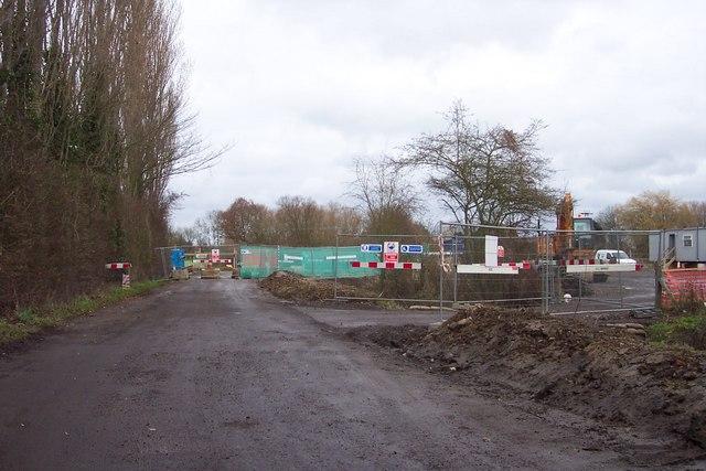Renewing the bridge, Poulters Lane