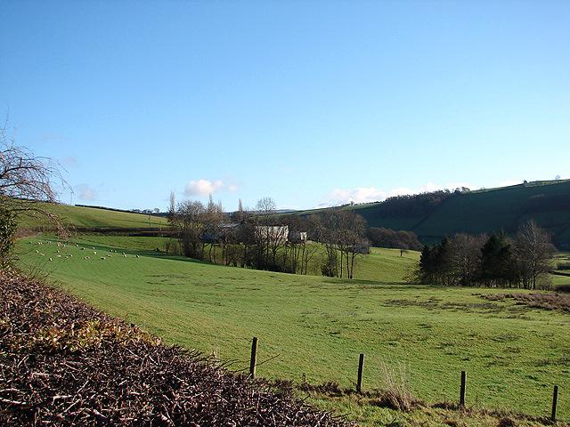 Farmland at Y Fan
