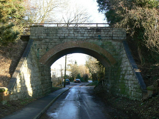 Bridge over Elcot Lane, Marlborough, Wiltshire