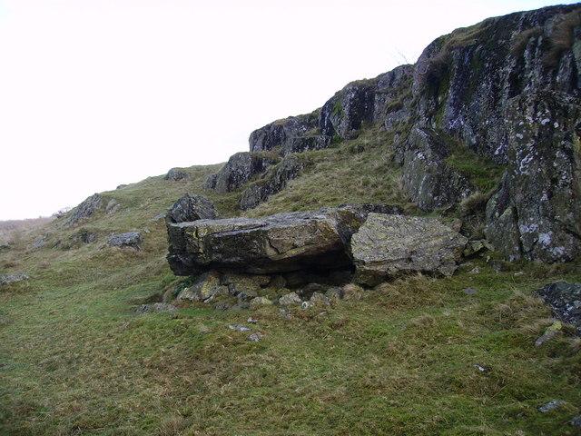 Small Crag near Poor Hag