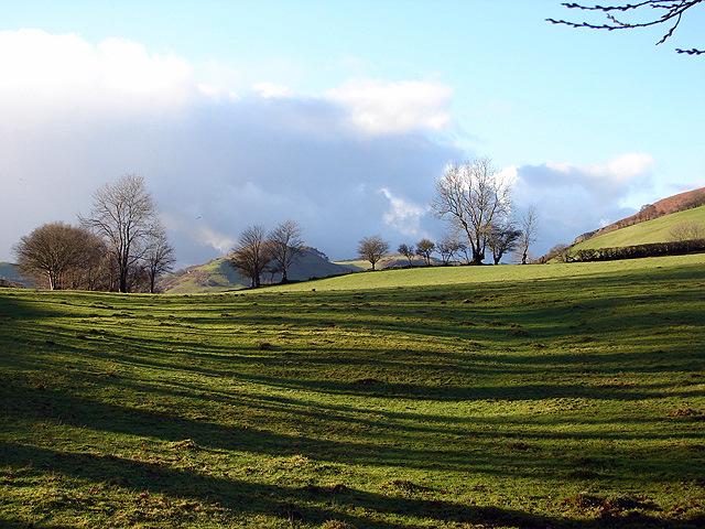 Farmland by Pen-y-Castell
