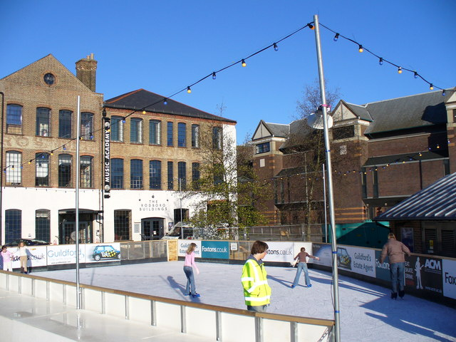 Christmas Open-air Ice Rink