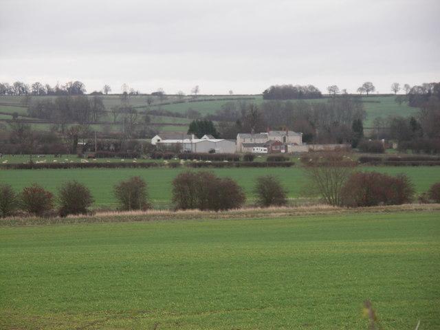 Rear of Beauchamp Grange