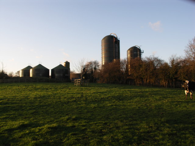Silos at Theddingworth Lodge