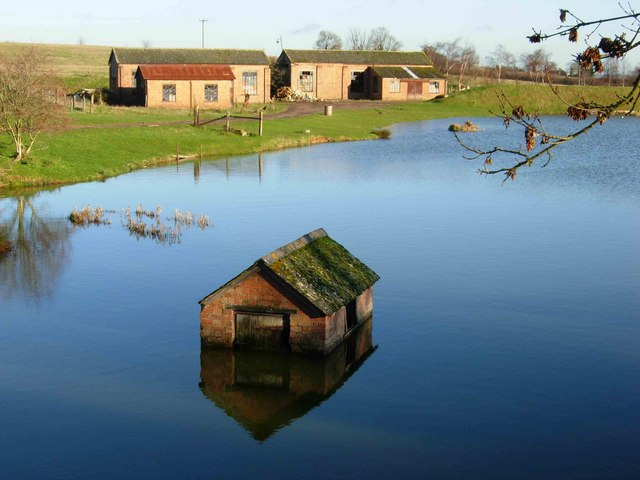 Fishing Pond, Gayton Wood Farm