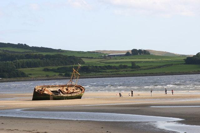 Shipwreck, Ettrick Bay