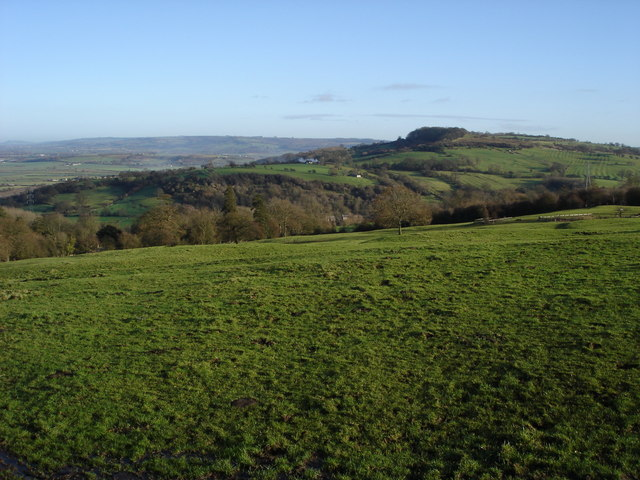 The northern slopes of Nottingham Hill