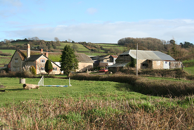 Axmouth: Higher Bruckland Farm