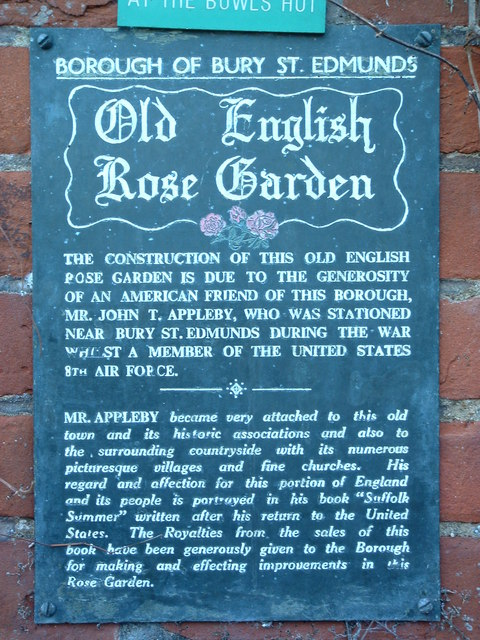 The Old English Rose Garden