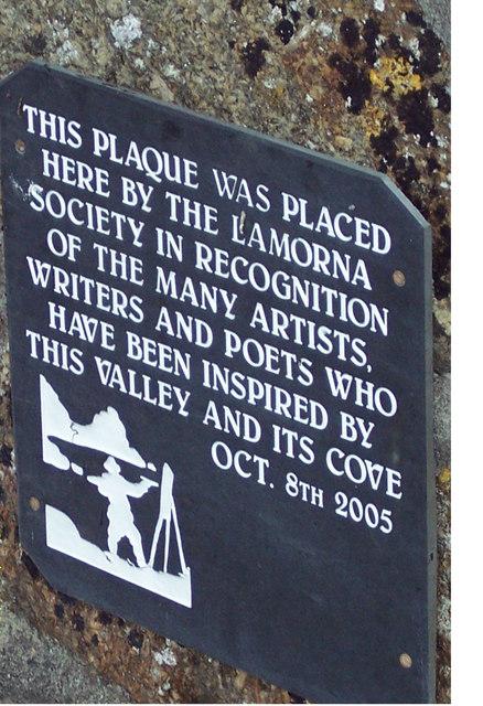 Lomorna Society Plaque