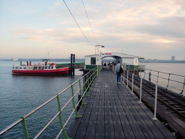 Hythe Pier (ferry end)