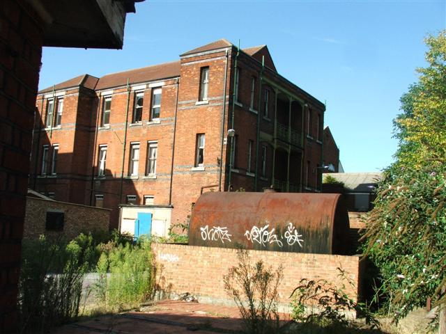 Former West Middlesex University Hospital