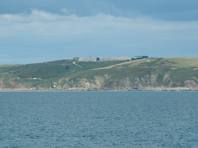 Fort Tregantle from the sea