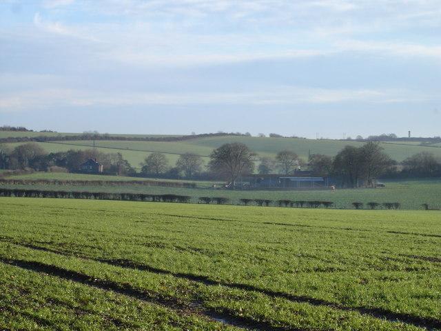 View towards Wellhouse Farm