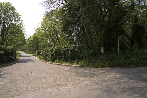 Entrance to West Park Farm