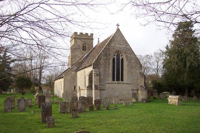 Parish church of Holy Rood, Shilton