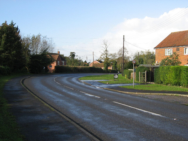Passing Through Garvestone
