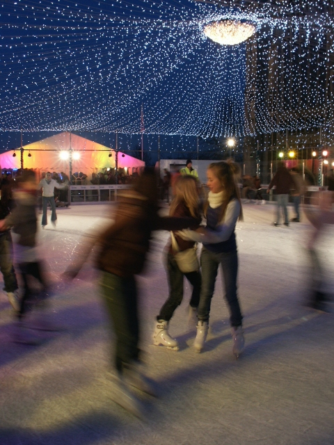 Ice rink at the Forum, Norwich