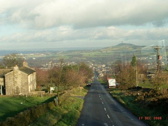 Bradshaw Lane . Honley