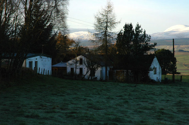 House at Knocknafanaig on the Black Isle