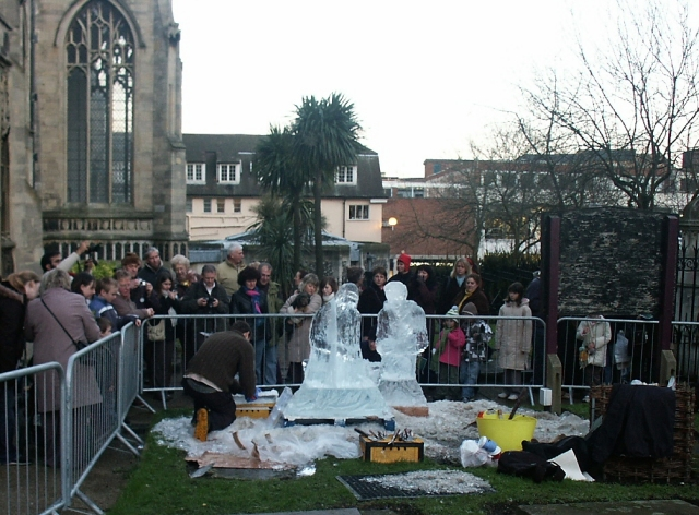 Ice sculptors, Norwich