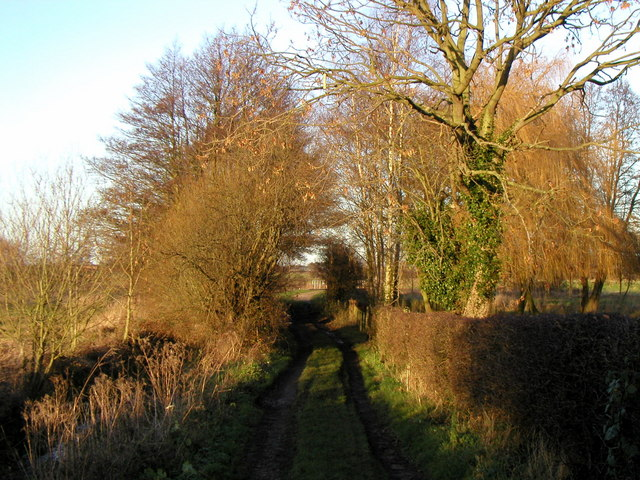 Public Footpath to the Pocklington Canal