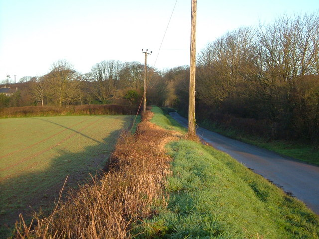 Lane from Blackpool to Wiverton