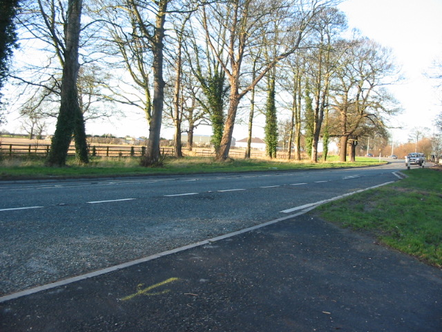 The A19 at Crockey Hill