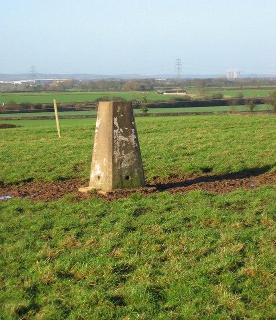Grange Farm triangulation pillar