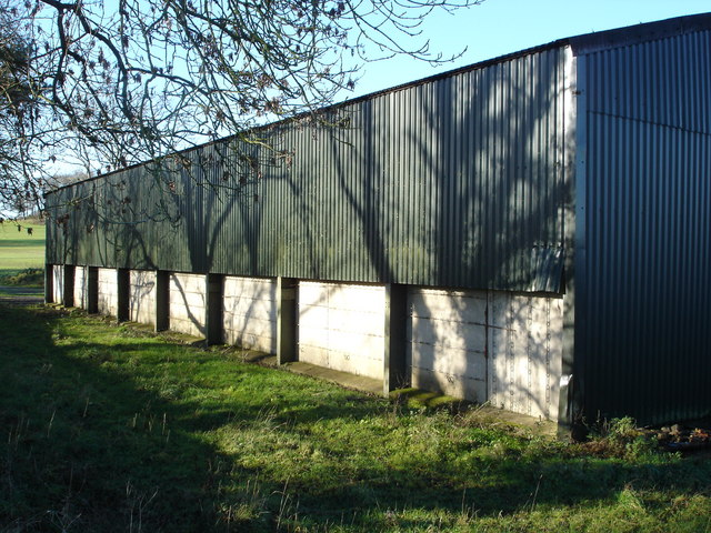 Barn near Stapleton Farm