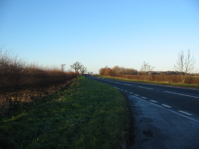 The A19 south of Escrick