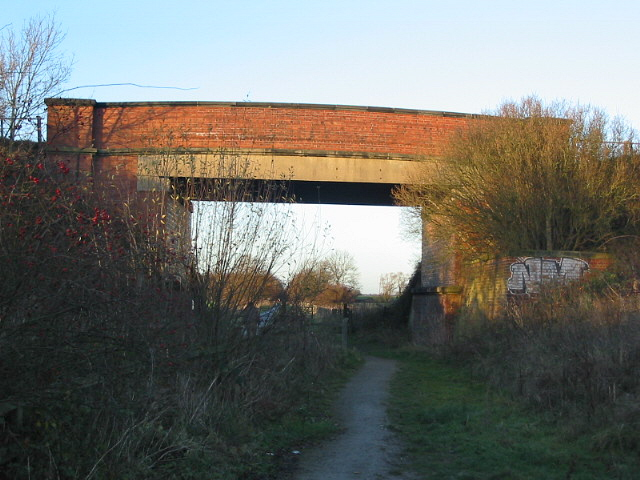 The Roadbridge over Trans Pennine Trail on former York-Selby railway line
