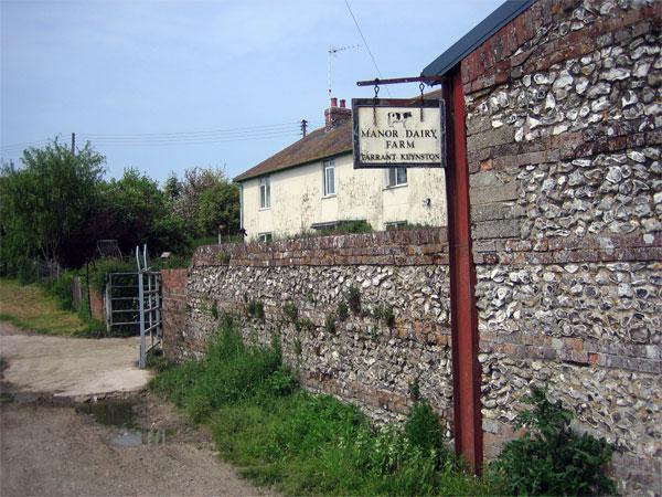 Manor Dairy Farm, Tarrant Keynston