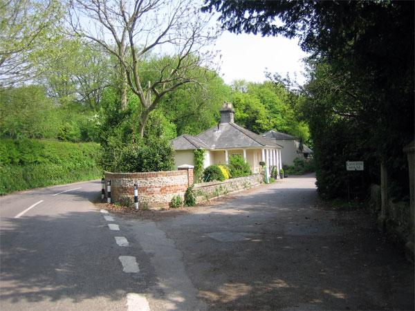 Entrance to Langton House