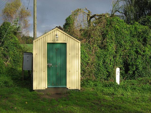 A Railway Hut