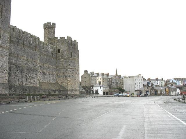 An empty Slate Quay
