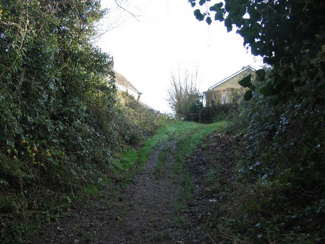 Approaching Wood Lane