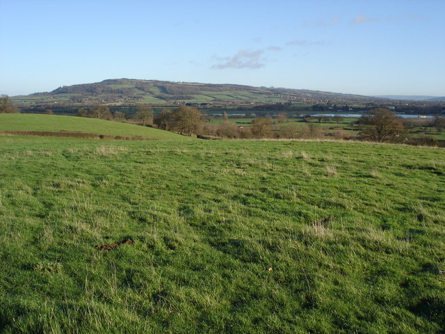 Bredon Hill viewed from Twyning