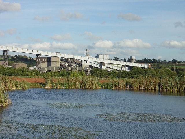 Pond near Daw Mill Colliery