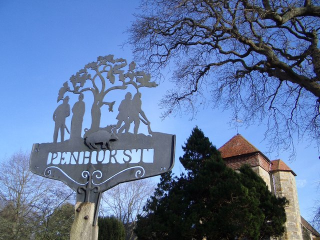 Village Sign, Penhurst