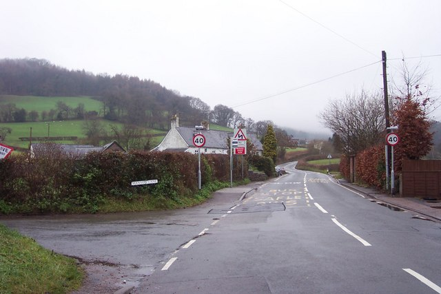 Manson Lane, off Hereford Road, Monmouth
