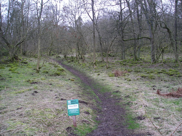 Entrance to Grass Wood Nature Reserve
