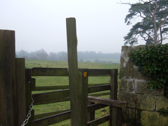 Stile and Footpath, Tadcaster