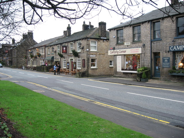 High Street Uppermill