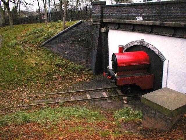 Train Sculpture, Woodthorpe Park