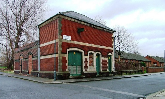 Electric Sub-Station, Salisbury Street