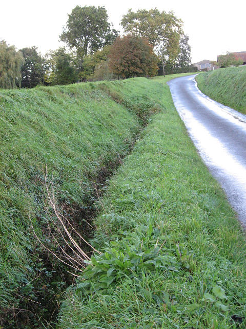 A Drain On Banham Hill