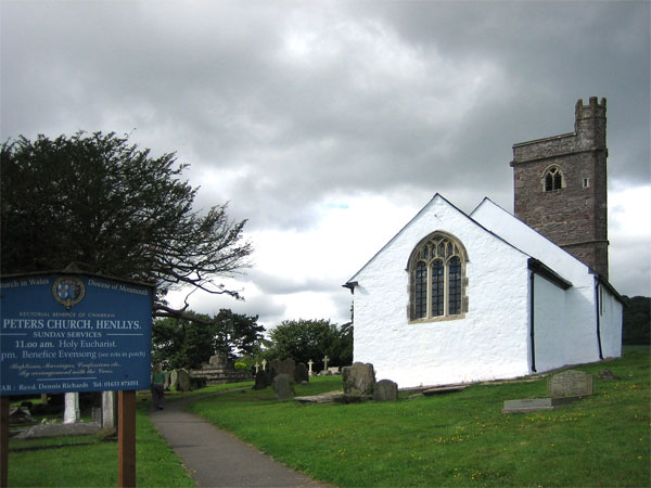 St Peter�s Church, Henllys
