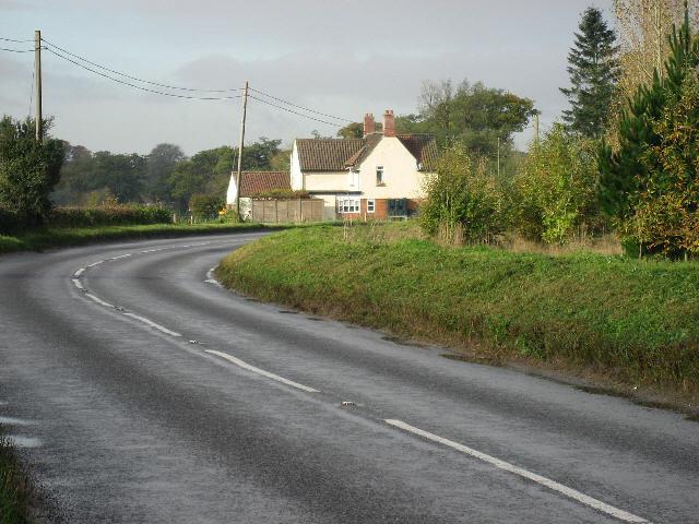 Entering Hingham.