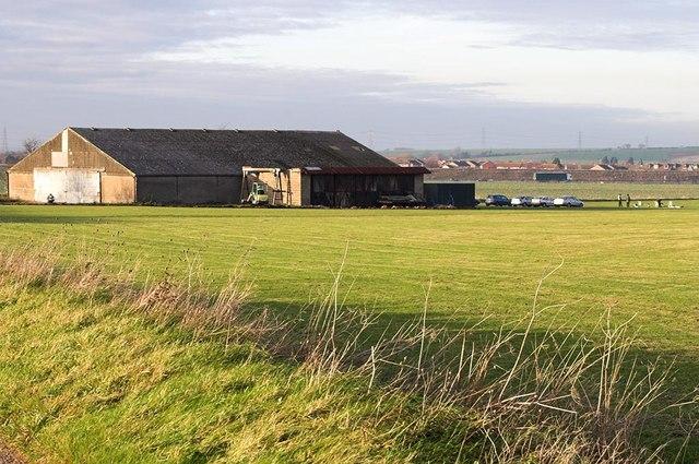 Airstrip and Hangar